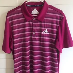 Adidas golf tour version polo shirt